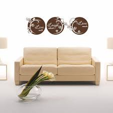 Live Well Laugh Often Love Much Wall Decal Style And Apply