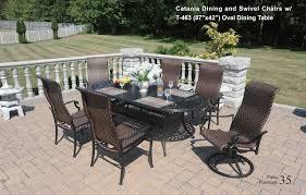 catania patio table set dwl patio