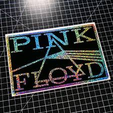 Pink Floyd Holographic Rainbow Vinyl Decal Sticker Home Car Window Laptop Dark Side Of The Moon Vinyl Decals Holographic Pink Floyd