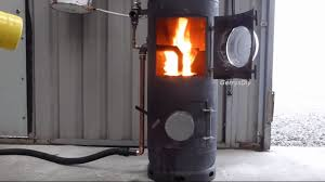 high output waste oil burner