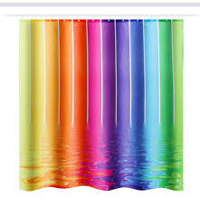 polyester shower curtain bathroom