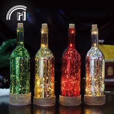 cork fairy led wine bottle string light