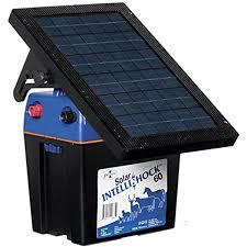 Amazon Com Premier Solar Intellishock 60 Fence Energizer Kit Includes 5 Light Wireless Tester Garden Outdoor