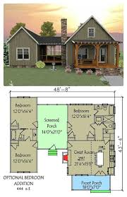 plan 92318mx 3 bedroom dog trot house