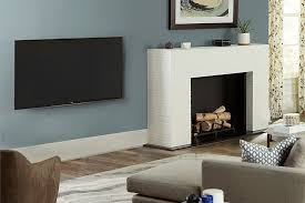 put the tv when you have a fireplace