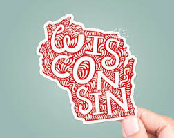 Wisconsin Car Decal Etsy