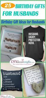 birthday gift ideas for husband