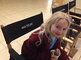 Ava Telek on set | On set, Ava