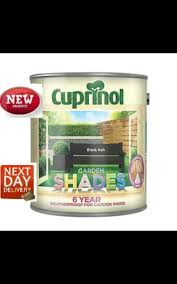 Cuprinol Garden Shades 1l Black Ash 839030 For Sale Ebay