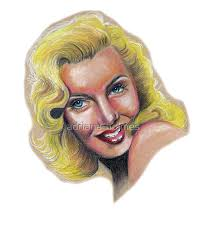 """Marilyn Monroe Colored Pencil Drawing"""" iPad Case & Skin by adriana-holmes 
