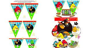 Kit Imprimible Angry Birds Cumpleanos Cajitas Tarjetas Y Mas S