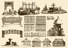 vintage garden decoration