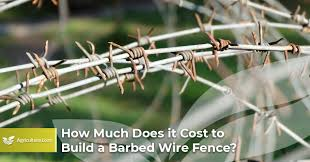 How Much Does It Cost To Build A Barbed Wire Fence Agriculture Loan