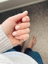 gel versus dip nails the small things