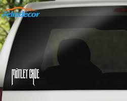 25cm Wide Music Band Sign Motley Crue Vinyl Car Decal Quotes Art Trunk Decor L102 Car Stickers Aliexpress