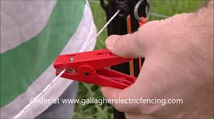 How To Set Up A Gallagher Smartfence Electric Fence Youtube