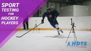 hockey players testing sport testing