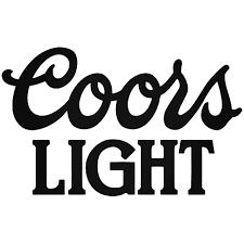 Coors Light Logo Sticker