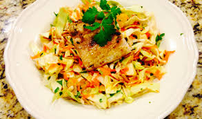 Mahi Mahi Salad with Asian Dressing ...