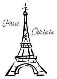 Eiffel Tower Paris France Ooh La La Vinyl Wall Mural Decor Decal Sticker Large 17 45 Picclick