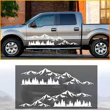 Pick Up Truck Car Side Stripes Side Skirts Graphics Decals Stickers For Jeep J12 Car Stickers Aliexpress