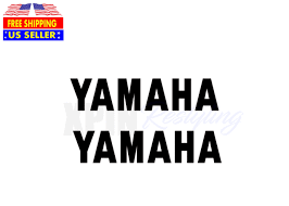 2 Yamaha Vinyl Decal Decals Sticker Stickers Motorcycle Dirt Bike Badge Emblem For Sale Online Ebay