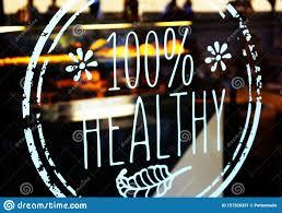 100 Healthy Restaurant Window Decal Sticker On Door Glass Stock Image Image Of Gluten Business 157326331
