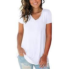 cute tops short sleeve v neck t shirts