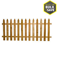 Severe Weather 3 5 Ft H X 8 Ft W Cedar Gothic Fence Panel In The Wood Fence Panels Department At Lowes Com