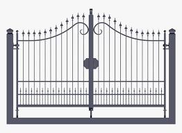 Transparent Iron Gate Png Png Download Kindpng