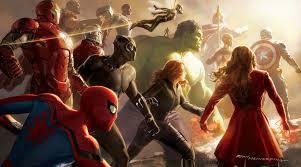 avengers infinity war artwork