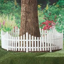 Set Of 4 Flexible White Picket Fence Garden Border Edging Covers 8 Feet For Sale Online
