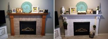 cozy fireplace makeover