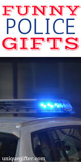 20 funny police gifts unique gifter