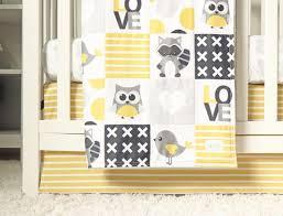 owl crib bedding gender neutral baby