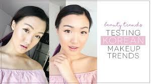 6 korean makeup trends tested