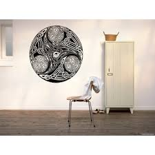 Shop Celtic Knot Stylized Graphical Wall Art Sticker Decal Overstock 11371574