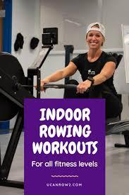 skierg rowing workouts