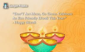 celebrate safe eco friendly diwali slogans quotes