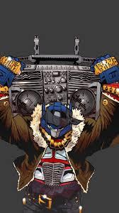 transformers machines boombox