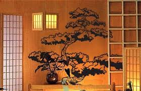 Vinyl Wall Art Decal Sticker Japanese Bonsai Tree 344s Decal Wall Art Japanese Wall Art Vinyl Wall Art Decals