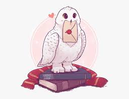 Hedwig Harry Potter Stickers Free Transparent Clipart Clipartkey