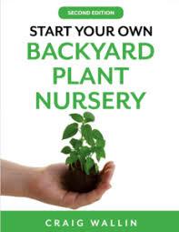 start a profitable backyard plant nursery