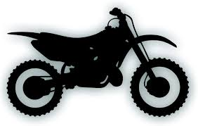 Amazon Com Motorcycle Decal Sticker Compatible With Honda Cr250 Dirt Bike Motocross Trail Rider Window Or Trailer 10 1 2 X 6 1 4 Inch Black Arts Crafts Sewing
