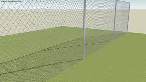 3d Chain Link Fence 3d Warehouse