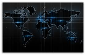 world map ultra hd desktop background