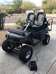 custom lifted yamaha g16 golf cart