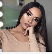 brown eyes makeup look