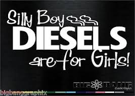 Diesel Decal Sticker Powerstroke Pickup Bad Girl Vinyl Window Truck Car Funny Ebay