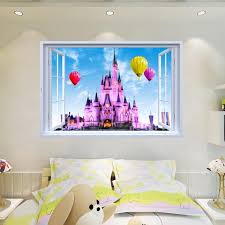 Disney Castle Wall Stickers The Treasure Thrift